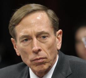 This Feb. 2, 2012 file photo shows CIA Director David Petraeus testifying on Capitol Hill. Petraeus has resigned because of an extramarital affair.