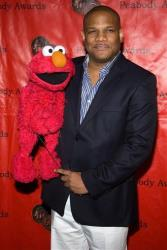 In this May 17, 2010 file photo, Elmo puppeteer Kevin Clash attends the 69th Annual George Foster Peabody Awards in New York.