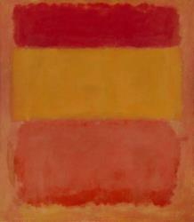 FILE- In this undated file photo provided by Christie's Auction House, Orange, Red, Yellow, a 1956 painting by Mark Rothko is shown. The painting was sold by Christie's in New York for $388.5 million on Tuesday, May 8, 2012.