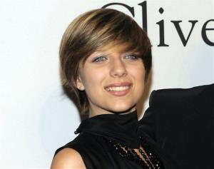 This Jan 30, 2010 file photo shows Stephanie Rose Bongiovi, daughter of rocker Jon Bon Jovi, at the annual Pre-GRAMMY Gala presented by The Recording Academy and Clive Davis in Beverly, Hills, Calif.