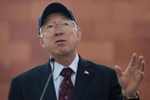 Interior Secretary Ken Salazar.