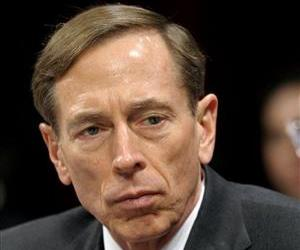 This Feb. 2, 2012 file photo shows CIA Director David Petraeus testifying on Capitol Hill.