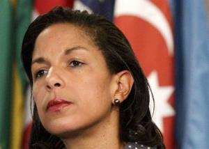 This June 7, 2012 file photo shows US Ambassador to the UN Susan Rice.