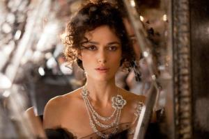 This film publicity image released by Focus Features shows Keira Knightley in a scene from Anna Karenina.