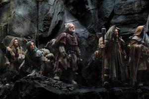 This publicity file photo released by Warner Bros., shows a scene from the fantasy adventure The Hobbit: An Unexpected Journey.