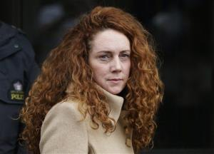 This Wednesday, Sept. 26, 2012 file photo shows Rebekah Brooks, the former chief of News Corp.'s British operations, leaving the Old Bailey court in London.