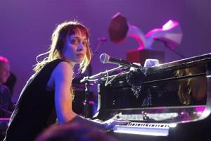 This March 14, 2012 file photo shows Fiona Apple performing at the NPR showcase during the SXSW Music Festival in Austin, Texas.