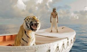 This film image released by 20th Century Fox shows Suraj Sharma as Pi Patel in a scene from Life of Pi.
