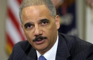 Attorney General Eric Holder in a July file photo.