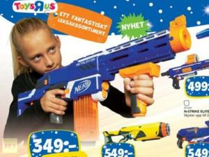 An image from the Top Toy catalog in Sweden.