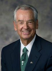 This undated photo provided by Prestonwood shows renowned motivational speaker Zig Ziglar.