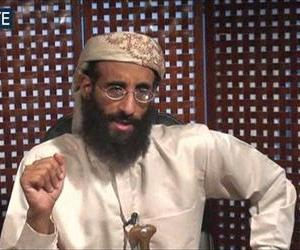 In this In this Monday, Nov. 8, 2010 file image taken from video and released by SITE Intelligence Group, Anwar al-Awlaki speaks in a video message posted on radical websites.