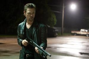 Brad Pitt in a scene from Killing Them Softly.