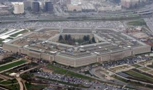 The Pentagon is seen in this aerial view in Washington.