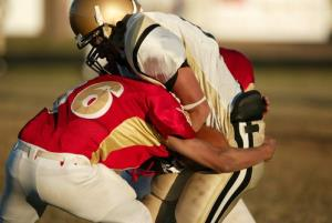 Repeated blows to the head may contribute to long-term brain disease.
