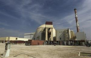 In this Tuesday, Oct. 26, 2010 file photo, the reactor building of the Bushehr nuclear power plant is seen, just outside the southern city of Bushehr, Iran, Tuesday, Oct. 26, 2010.