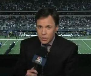 Bob Costas is seen in this screenshot.