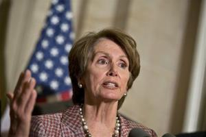 Nancy Pelosi is seen in Washington, Thursday, Nov. 29, 2012.