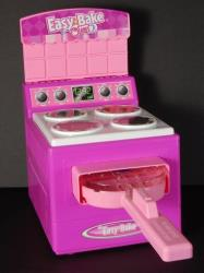 This undated handout file photo provided by the Consumer Product Safety Commission (CPSC), shows an earlier model of the Hasbro Inc. Easy Bake Oven.