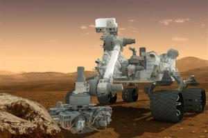 This artist's rendering provided by NASA shows the Curiosity rover on the surface of Mars. NASA announced Tuesday, Dec. 4, 2012, it plans to send another Curiosity-like rover to Mars in 2020.