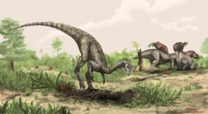 An artist's rendering of the Nyasasaurus, believed to have lived some 245 million years ago.