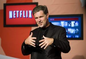 Reed Hastings, CEO of Netflix, in a 2010 file photo.