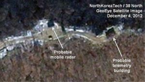 This Dec. 4, 2012 satellite image shows the Sohae launching station in Tongchang-ri, North Korea.