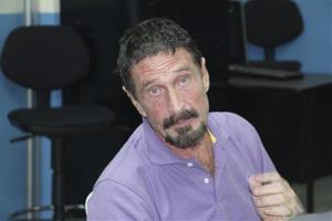 In this image released by Guatemala's National Police on Dec. 5, 2012, software company founder John McAfee is pictured after being arrested for entering the country illegally.