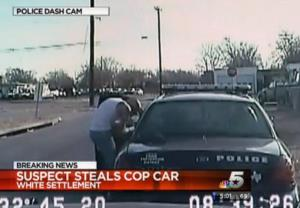 A screen grab from video of the incident.