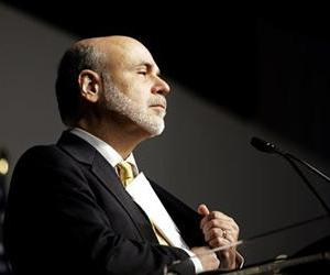 Ben Bernanke prepares to deliver remarks in this file photo.
