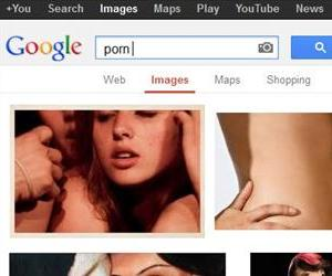 You'll have to get pretty explicit with your search if you want Google to show you porn. (Screenshot modified to reduce negative space)