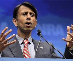 In this April 13, 2012 file photo, Louisiana Gov. Bobby Jindal speaks in St. Louis. Leaks are springing. Trial balloons are floating.