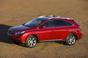 This file photo provided by Lexus shows the 2010 RX 350.