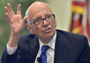 News Corporation CEO Rupert Murdoch in a file photo.