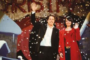 Hugh Grant and Martine McCutcheon in Love, Actually.
