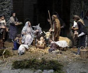 The Nativity Scene set up in St. Peter's Square at the Vatican is seen Dec. 21, 2012.