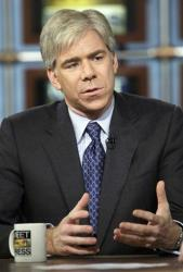 David Gregory has gotten into some hot water over a magazine that he brought on Meet the Press this weekend.