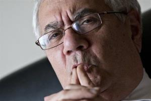 In this photo taken Dec. 12, 2012, Rep. Barney Frank, D-Mass., the nation's most prominent gay politician, speaks about his impending retirement during an interview with The Associated Press on Capitol Hill in Washington.