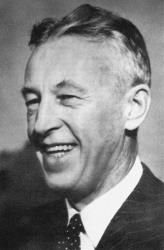 This undated photo provided by Hazelden shows Bill Wilson, co-founder of Alcoholics Anonymous.