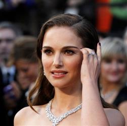Natalie Portman arriving before the 84th Academy Awards on Feb. 26, 2012, in the Hollywood section of Los Angeles. Portman topped this year's Forbes list of best actors for the buck.