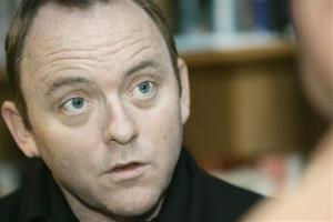 Best-selling author Dennis Lehane in 2008.