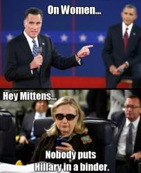 2012, the year that brought us binders full of women and a texting meme from a badass secretary of state.