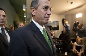 Speaker of the House John Boehner said the House will not vote on Sandy aid this session.