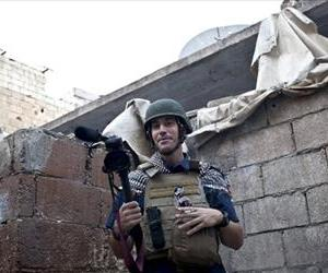 This photo posted on the website freejamesfoley.org shows journalist James Foley in Aleppo, Syria, in November, 2012.