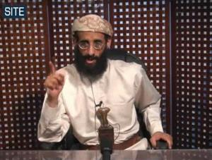 In this Monday, Nov. 8, 2010 file photo taken from video and released by SITE Intelligence Group, Anwar al-Awlaki speaks in a video message posted on radical websites.