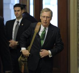 Senate Minority Leader Mitch McConnell could be the dealmaker on the debt ceiling, as well.