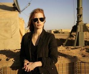 Jessica Chastain in a still from Zero Dark Thirty.