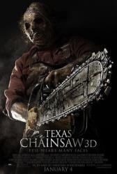 Theatrical key art for a poster from the movie, Texas Chainsaw 3-D, releasing in theaters on Friday, January 4, 2013.