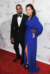 Singer Kanye West and girlfriend Kim Kardashian attend Gabrielle's Angel Foundation 2012 Angel Ball cancer research benefit at Cipriani Wall Street on Monday Oct. 22, 2012 in New York.