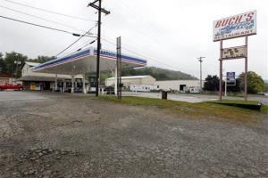 File photo of a truck stop in Steubenville, Ohio.